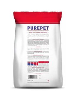The-Pet-Being Purepet Chicken & Vegetable Adult Dog Food