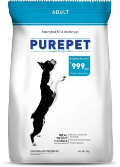 The Pet Being Purepet Chicken and Vegetables Adult Dog Food